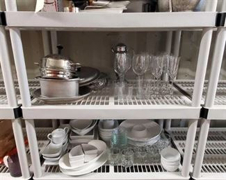 4565: Assorted Kitchenware and Glassware Assorted Kitchenware and Glassware