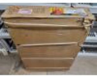"""4900: Central Pneumatic 40lb. Capacity Floor Blast Cabinet Box measures approx 8""""x27""""x38"""""""