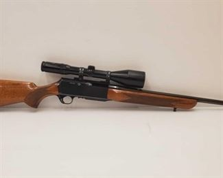 405: Browning BAR .308 Cal Rifle with Schmidt & Bender Scope Includes Schimidt & Bender Scope Serial number: 46074 Barrel length: 22""