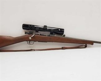 """50: Springfield Armory Model 1903 Bolt Action Rifle with Bushnell Scope Serial Number: 192058 Barrel Length: 24"""""""
