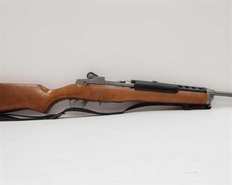 "455: Ruger Mini-14 .223 Cal Rifle Serial Number: 186-57776 Barrel Length: 18"""