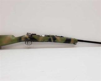 "460: Fabrica de Armas 1906 .30 Cal Bolt Action Rifle Serial Number: 09289 Barrel Length: 29"""