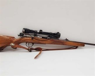 """470: Lauf Staul Nato-Courgar 30-06 Bolt Action Rifle with Scope Serial number: 149846 Barrel Length: 23"""""""
