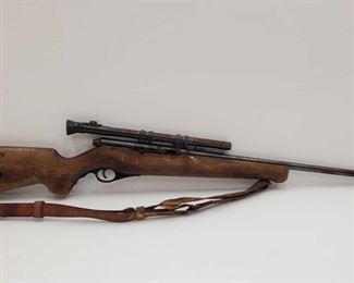 """Mossberg 151K .22lr Rifle with Scope Serial number: N/A Barrel Length: 24"""""""