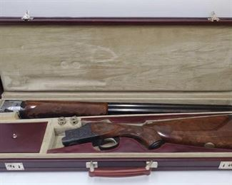 """500: Winchester 101 Silver Anniversary Over and Under 12ga Shotgun #40 in Case Serial Number: WSA12-040E Barrel Length: 28"""""""