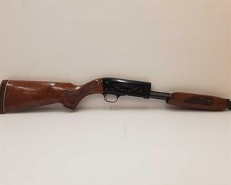 550: Ithaca Feather Light 37 20 Gauge Shotgun Receiver Stock Only Receiver Stock Engraved Serial Number: ULT-371652211