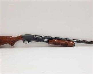 "555: Remington Wingmaster 870 12ga Pump Action Shotgun Serial number: 1087035V Barrel Length: 25"""