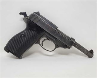"""611-Walther P38 9mm Semi-Auto Pistol Serial number: 9604 Barrel Length: 4.9"""""""