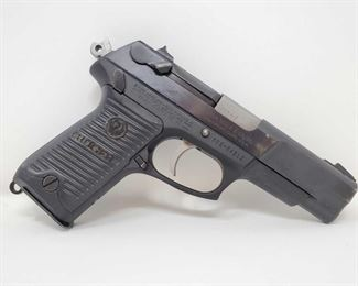 """620: Ruger P89 9mm Semi-Auto Pistol with 10 Round Magazine and Case Serial Number: 305-04212 Barrel Length: 4.5"""""""