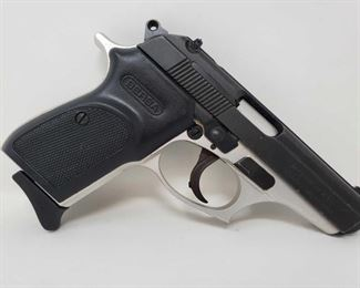"""630: Bersa Thunder 380 .380 Cal Semi Auto with Magazine Includes magazine Serial Number: 605652 Barrel Length: 3.375"""""""