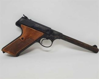 "640: Colt Targetsman .22lr Semi-Auto Pistol Serial number: 024835S Barrel Length: 6"""