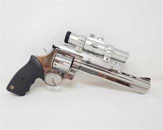 "700: Taurus Brasil .44 Mag Revolver wirh Tasco ProPoint Scope Serial Number: OG298205 Barrel Length: 8.43"" Tasco ProPoint Scope Model Number: PDP2ST"