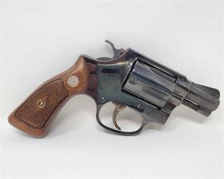 "726: Smith & Wesson Model 36 .38 Spl Revolver Serial Number: 518345 Barrel Length: 1.8"""