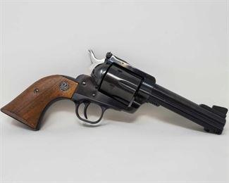 "735:  Ruger Blackhawk .45 Cal Revolver Serial number: 46-94071 Barrel Length: 4.6"" Includes extra cylinder and box"