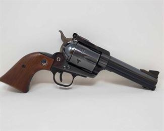 "745: Ruger Black Hawk .45 Cal Revolver Serial: 45-07735 Barrel Length: 4.6"""
