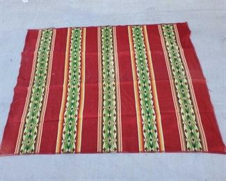 """1037: 1040: Woven Tapestry Measures approx 65""""x35"""""""