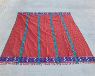 """1038: 1040: Woven Tapestry Measures approx 65""""x35"""""""