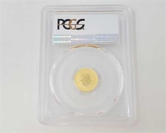 2002: 1/10oz .999 Gold 2016-P 75th Anniversary Pearl Harbor $15 Coin - PCGS Graded PCGS Graded MS70 In protective Casing