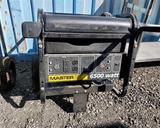 210: Master MGH6500IE Portable Generator Master MGH6500IE Portable Generator