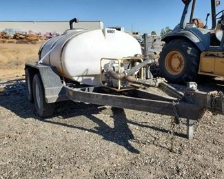 306: Ingersoll Rand P185W1R Air Compressor w/ Trailer Ingersoll Rand P185W1R Air Compressor w/ Trailer