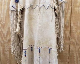 1046: Native American Beaded Dress