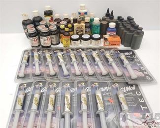 #971 • Assorted Gun Oils and Cleaners
