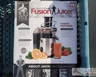 #4130 • Fusion Juicer Still in Box