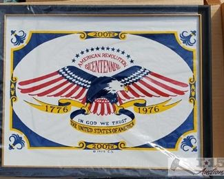 #4132 • 6 American Bicentennial 1975 Prints
