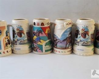 #4571 • Oaktree Beer Stein Collection and Mugs
