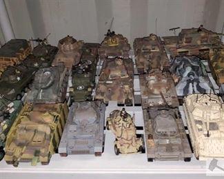 #4578 • Unimax and 21st Century Toys Tanks
