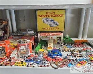 #4586 • Matchbox Collectors Case, Pedal Planes, Nascar Cars and more!