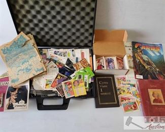 #4591 • Comics, Books, Cartoon Cards and more!!
