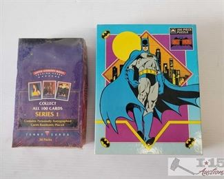 #4596 • Super Country Music Collector Cards and Batman Puzzle