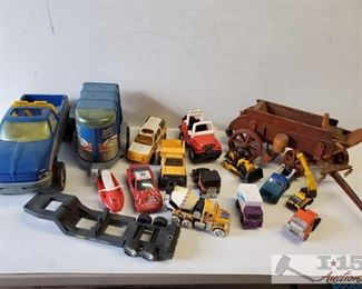 #4603 • Vintage Toy Cars Tonka, Buddy L Mattel, Temco and more