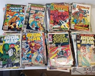 #4612 • Comic Books Batman, Spiderman, Avengers, Iron Man Marvel Universe , G.I Joe and MORE!