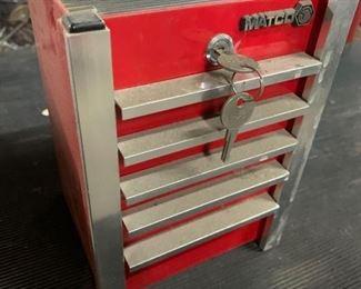 #4614 • Matco mini toolbox bank