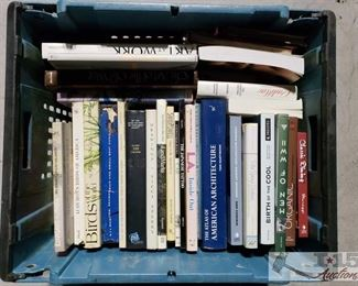 #4701 • Approx. 35 Books of Various Genres
