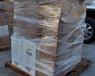 #6001 • Pallet with Approx 24 Boxes of Assorted Dvds, Books, CDs and More