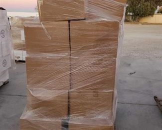 #6005 • Pallet with Approx 28 Boxes of Assorted Books and Audio Books