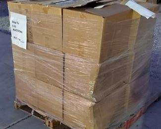 #6007 • Paller with Approx 24 Boxes of Assorted Books