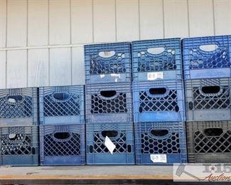#7800 • 13 Milk Crates