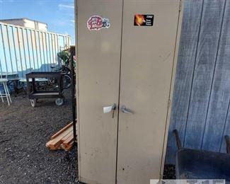 #7811 • Metal Cabinet