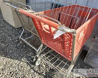 #7813 • 2 Shopping Carts