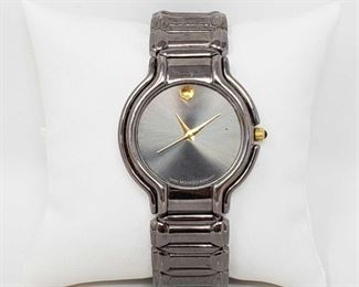 1112: Movado Swiss Made Wrist Watch Measures approx 36mm Marked 81.E3.813