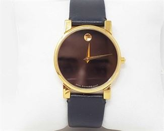 1113: Movado Swiss Made Wrist Watch Measures approx 33mm Marked 87 G4 875, 7186306