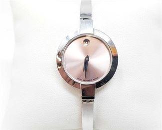 1114: Movado Swiss Wristwatch Approximately 25mm Model 84A11830,10015465