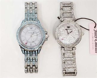 1126: Juicy Couture Watches Models 2.574.818 and 2.557.470