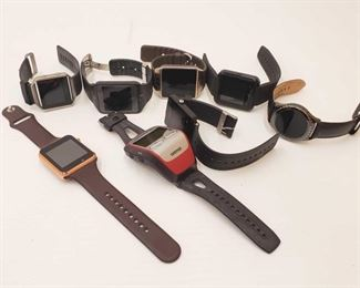 1130: 8 Smart Watches and Fitness Watches Includes Garmin, Fitbit, Samsung and more!