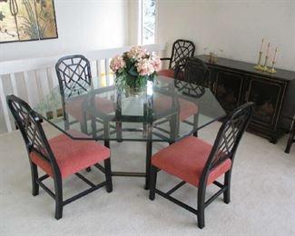 John Widdicomb dining set