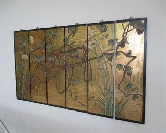 Oriental wall hanging